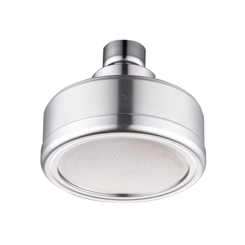 Tecmolog Space Aluminum Round Shower Head with Detachable and Washable Filter, High Pressure and Water Saving Rainfall Fixed Shower Head BD141/BD141A