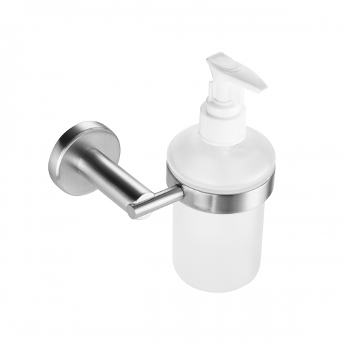 Tecmolog SUS304 Stainless Steel Wall Mounted Liquid Soap Dispenser Holder Bathroom Accessory